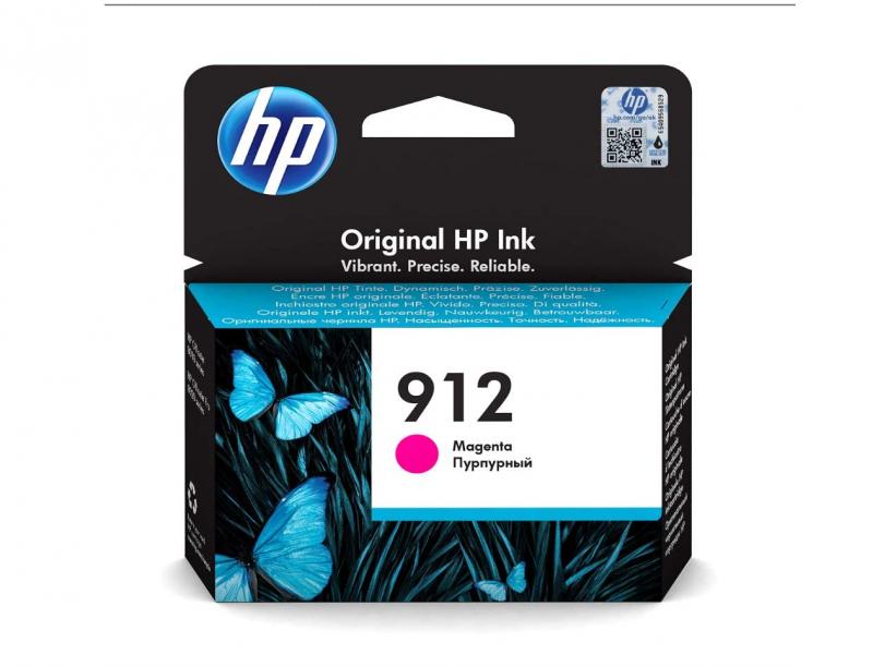 HP 912 3YL78AE Rot Original Druckerpatrone für HP OfficeJet Pro 8010, 8012, 8014, 8015, HP OfficeJet Pro 8020, 8022, 8023, 8024, 8025