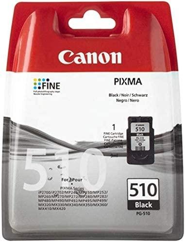 Original Canon Tintenpatrone PG-510BK - schwarz 9 ml - Original für Tintenstrahldrucker
