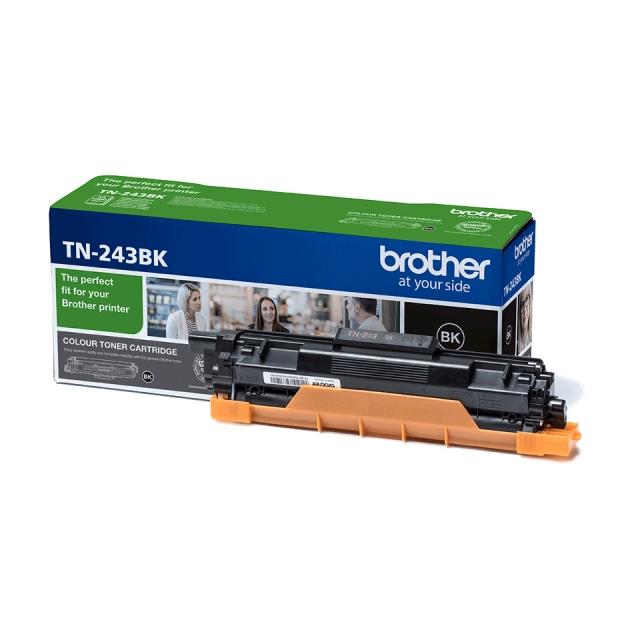 Original Brother TN243BK Toner schwarz  für Brother DCP-L3510, L3550, HL-L3210, L3230, L3270, MFC-L3710, L3730, L3750, L3770