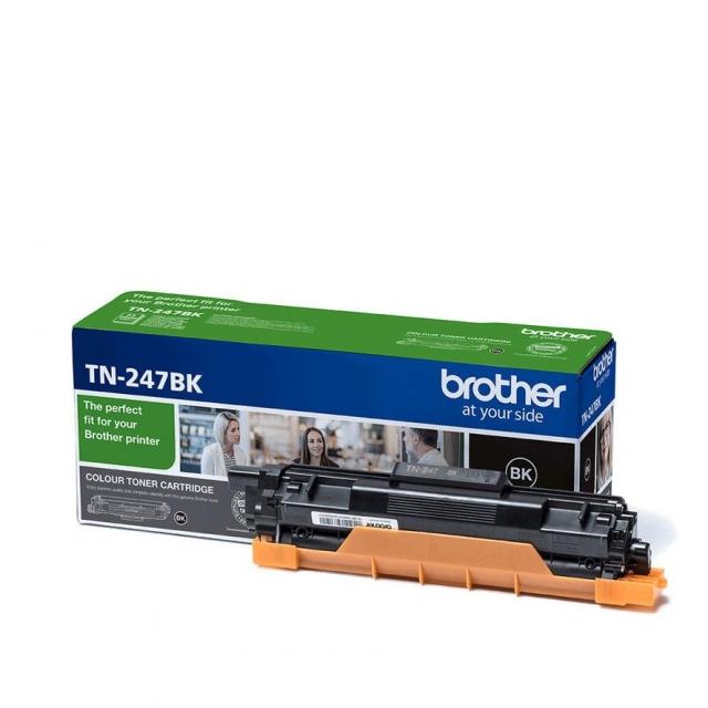 Original Brother TN247BK Toner schwarz für Brother DCP-L3510, L3550, HL-L3210, L3230, L3270, MFC-L3710, L3730, L3750, L3770