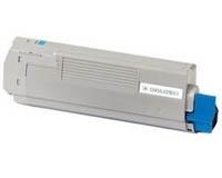Toner Cyan kompatibel für OKI C5600, C5700 (XXXL 6000 S.)