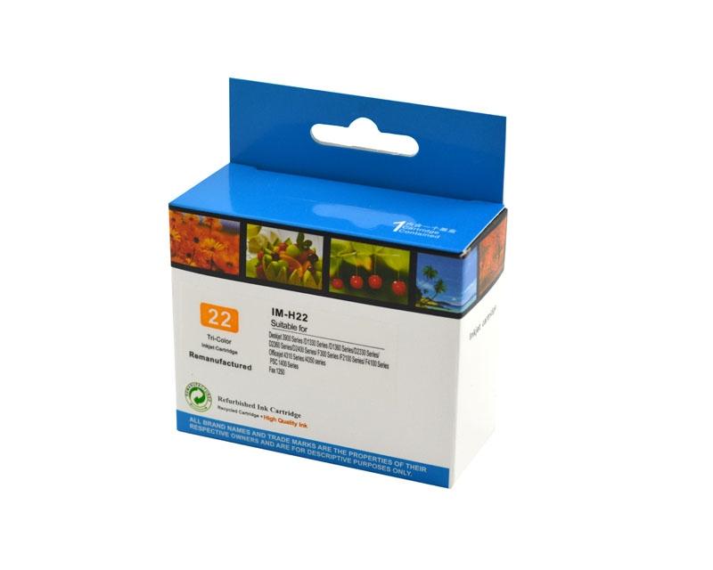 Tintenpatrone Color CMY kompatibel für HP Nr. 22, C9352CE