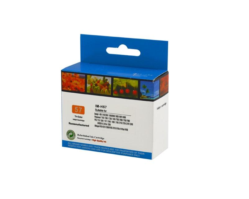 Tintenpatrone Color CMY kompatibel für HP Nr. 57, C6657A