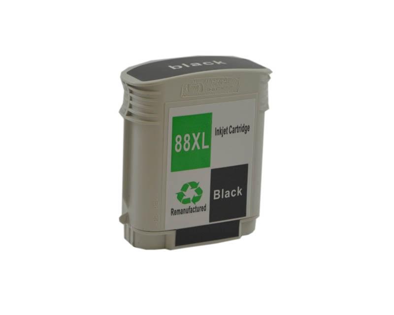 Kompatibel mit HP C9396AE/ 88XL, Tintenpatrone Schwarz