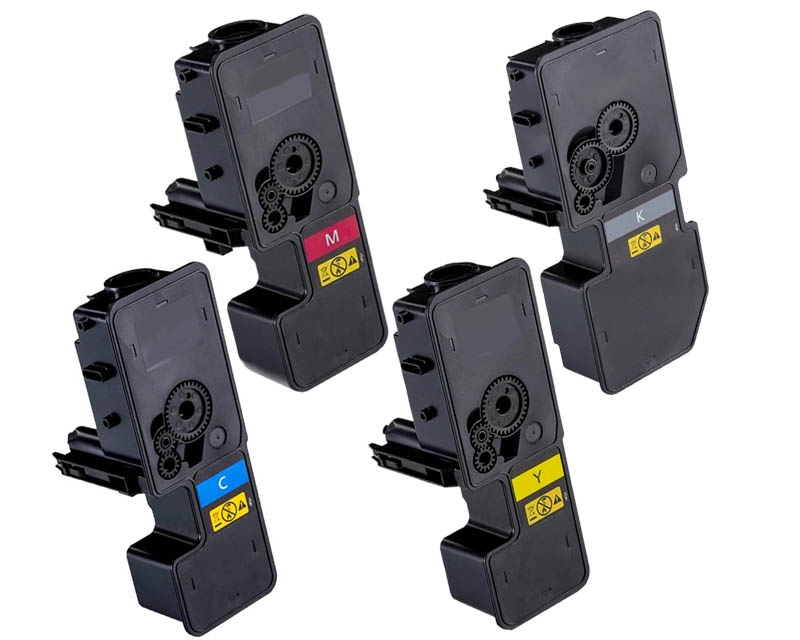 Toner Spar-Set-4 kompatibel für Kyocera TK-5230