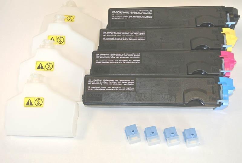 Kompatibel zu Kyocera FS-C5016, TK-500 Multipack Toner Set 4 TK-500