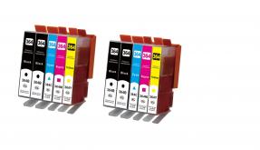 Kompatibel HP 364XL, N9J74AE, Tintenpatrone Multipack 10 stück Set CMYK