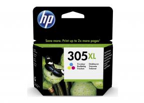 HP 305XL 3 Farbige Original Druckerpatrone mit hoher Reichweite für HP DeskJet, HP DeskJet Plus, HP ENVY, HP ENVY Pro