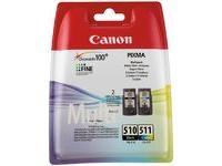 Original Tinten für Canon  Pixma Inkjet Drucker 2970B010AA Multipack Schwarz und Mehrfarbig