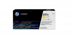 Original HP 651A (CE342A) Gelb für HP Laserjet Enterprise M775