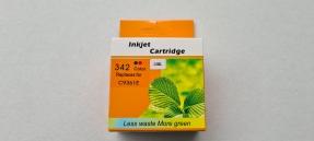 3x Kompatibel zu HP342 C9361EE Tintenpatrone Cyan, Magenta, Gelb