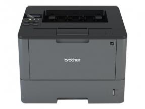 BROTHER HL-L5100DN A4 monochrom USB-Laserdrucker 40ppm 250 Blatt + 50 Blatt MF-Papierfach Duplex