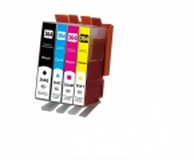 Kompatibel HP 364XL, N9J74AE, Tintenpatrone Multipack Set 4 Stück CMYBK