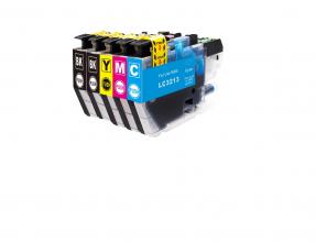Kompatibel mit Brother LC3213, LC-3213, Druckerpatronen Multipack Set 5 CMYBK