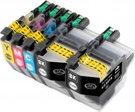 Kompatibel mit Brother LC3219, LC-3219, Druckerpatronen Multipack Set 5x CMYBK