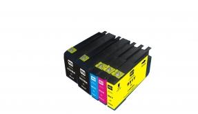 Kompatibel zu HP 950XL, HP 951XL, C2P43AE, Tintenpatrone Multipack Set 5 CMYBK