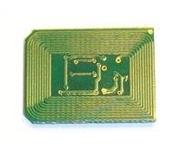 Reset-Chip für Toner Cyan komp. für OKI C612