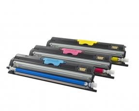 Toner Spar-Set-3 CMY HY kompatibel für Magicolor 1600, 1650 - A0V30NH