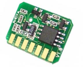 Reset-Chip für Toner Cyan komp. für OKI MC860