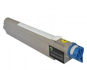 Toner Yellow kompatibel für OKI C9600, C9650, C9800, C9850