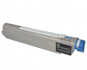 Toner Cyan kompatibel für OKI C9655 - 43837131