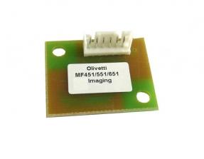 Reset-Chip für Imaging Unit Cyan komp. für Olivetti MF451, MF551, MF651