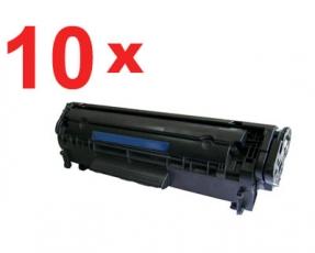 10 x Toner kompatibel für HP LaserJet Q2612A (10 Stück)