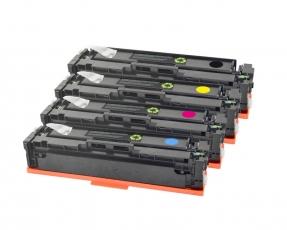 Toner Spar-Set-4 kompatibel für HP Color LaserJet Pro M252, M270 - 201X