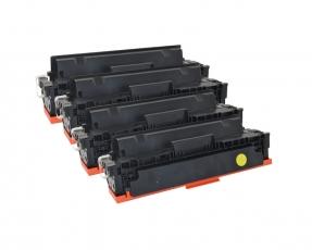 Kompatibel zu HP 410X, CF410X, Multipack Set 4 CMYBK HP Color LaserJet Pro M377 / M452 / M477