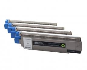 Toner Spar-Set-4 kompatibel für OKI ES8430