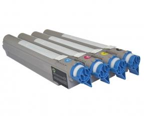 Toner Spar-Set-4 kompatibel für OKI C9600, C9650, C9800, C9850