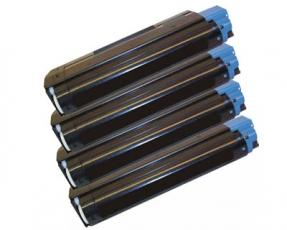 Toner Spar-Set-4 kompatibel für OKI C5100, C5200, C5300, C5400, C5450