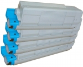 Toner Spar-Set-4 kompatibel für OKI C5550 MFP, C5800, C5900