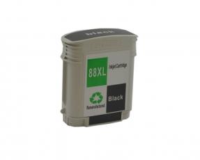 Tintenpatrone Schwarz kompatibel für HP 88XL