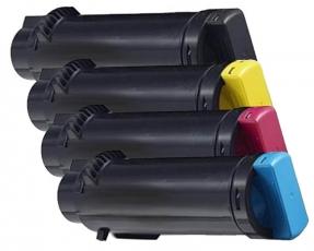 Toner Spar-Set-4 kompatibel für Dell H625, H825, S2825
