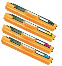 Toner Spar-Set-4 kompatibel für HP CE310A-CE313A, 126A