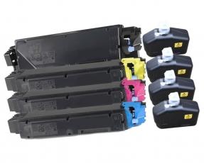 Toner Spar-Set-4 kompatibel für Kyocera TK-5280