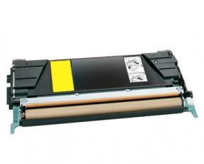 Toner Yellow kompatibel für Lexmark C522, C524, C530, C532, C534 XXL