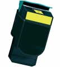 Toner Yellow HY kompatibel für Lexmark C544, C546, X544, X546