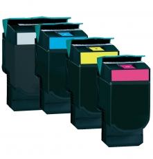 Toner Spar-Set-4 HY kompatibel für Lexmark C544, C546, X544, X546