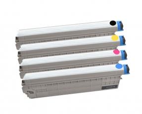 Toner Spar-Set-4 kompatibel für OKI MC851, MC861