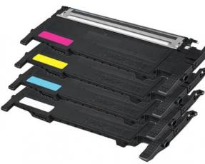 Toner Spar-Set-4 kompatibel für Samsung CLTP404CELS / P404C