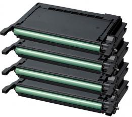 Toner Spar-Set-4 kompatibel für Samsung CLP-600, CLP-650