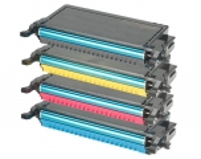 Toner Spar-Set-4 kompatibel für Samsung CLP-620, CLP-670