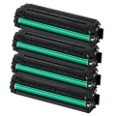 Toner Spar-Set-4 kompatibel für Samsung CLP-415, CLX-4195 - CLT-P504C (SU400A)