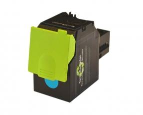 Toner Cyan kompatibel für Lexmark CS417, CS517, CX417, CX517 mit hoher Reichweite