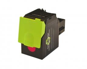 Toner Magenta kompatibel für Lexmark CS417, CS517, CX417, CX517 mit hoher Reichweite