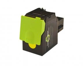 Toner Yellow kompatibel für Lexmark CS417, CS517, CX417, CX517 mit hoher Reichweite